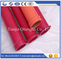 OD133mm*3000m*4.5mm life about 20000mmm double layer concrete pump pipe