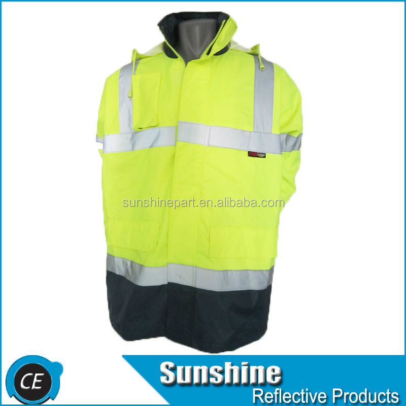 New design hi viz security fiber motorbike safety jacket
