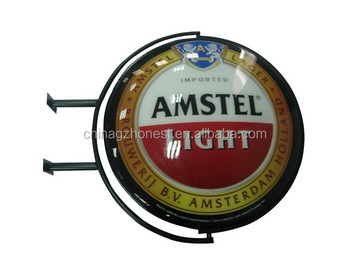 acrylic vacuum forming rotating display light sign board