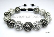 12mm disco balls high quality shamballa jewelry for USA market
