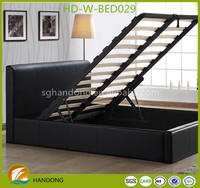 simple melamine flat pack bed design furniture