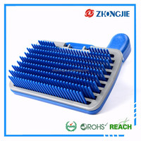 Factory Directly Supply Durable Plastic Pet Brush For Dog Horse