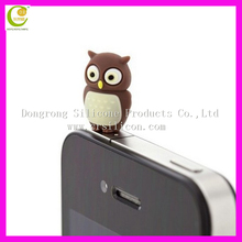Promotional gifts mobile phone earphone jack hot selling dust plug anti dust plug bling bling diamonds dust plug