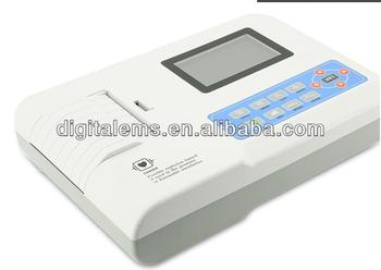 ECG300GT Three Channel ECG Electrocardiograph with high quality