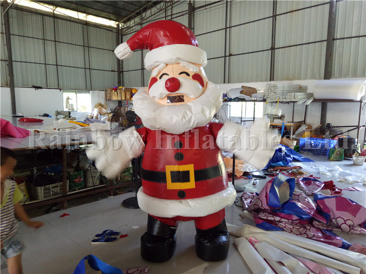 Santa Claus Old Man Advertising Christmas Inflatable Model