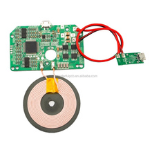 Customized qi wireless charger pcb prototype circuit board and pcba with coil