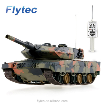 Flytec New Arrival 3809 1 / 24 German Airsoft Battle RC Tank With Programming Function RC Tanks Toy For Kids