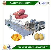 Stable performance automatic fruit and vegetable blanching blancher