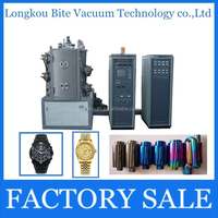 High quality titan watch small vacuum metalizing machine