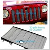 Front Protective Grill Insert With Lock Hole for Jeep 2007+