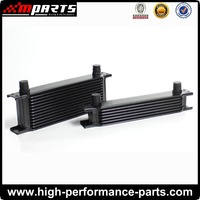 Universal Aluminum 7Row Transmission Oil Cooler, Performance Auto Oil Cooler, Racing Car Oil Cooler