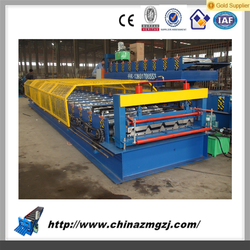 Trapezoidal Metal Sheet Roof Tile Roll Forming Machine/wall tile making