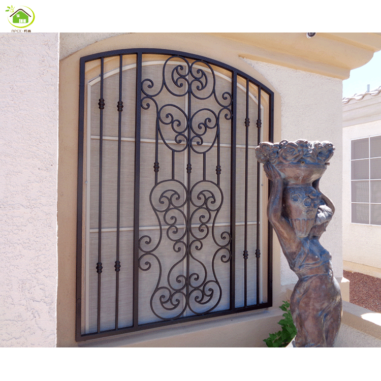 modern wrought iron window security grill design bars for windows