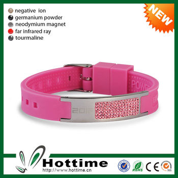 4in1 Bio Elements Energy Fashion Hand Power Silicone Band