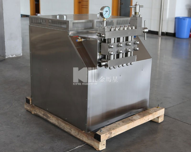 Homogenizer homogenizer processing