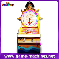 Qingfeng ML-QF843 wheel of fortune coin operated roulette game machine for children