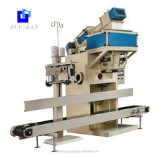 Blue ray automatic 50kg river sand bag filling and packing machine