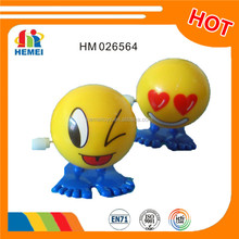 Promotional small toys emoji wind up toy for kids