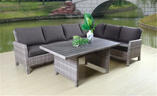 Outdoor Rattan/Wicker outdoor lounge set garden sofa dining table