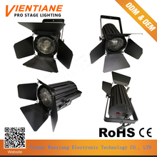 Foshan Professional stage lighting effect 200W led spotlight fresnel light