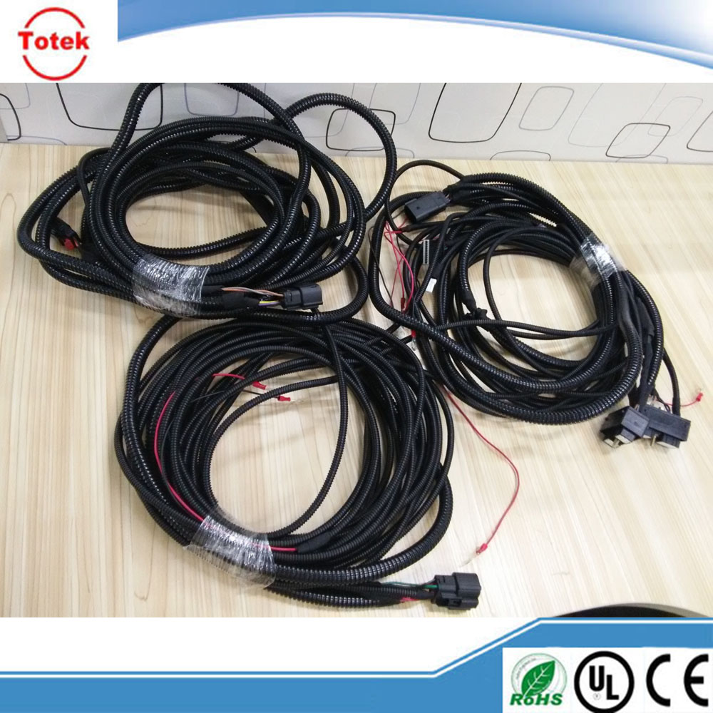 Original Deutsch Connector Wire Harness For Driving Lights Buy Wiring Connectors Cable