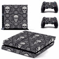 customized design accepted vinyl skin sticker for PS4 controller skin for PS4 console