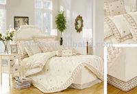victorian style bedding sets embroidery lace king weeding comforter sets middle east style wedding bedding sets