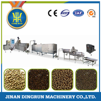 fish food making extruder / fish feed pellet machine