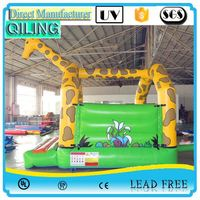 China Gold Supplier certificated crazy human sport theme inflatable bouncer price
