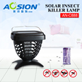 Aosion solar powered mosquito killer electric shock device