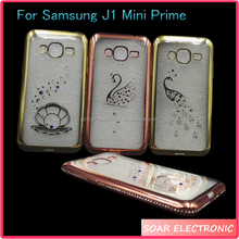 [Soar]Online Shipping Electroplating Bumper Soft Gel TPU Case Cover For Samsung Galaxy J1 Mini Prime