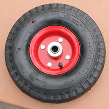 10inch ball bearing pneumatic trolley rubber wheel 3.50 - 4 with high quality inner tube for hand trolly made in china