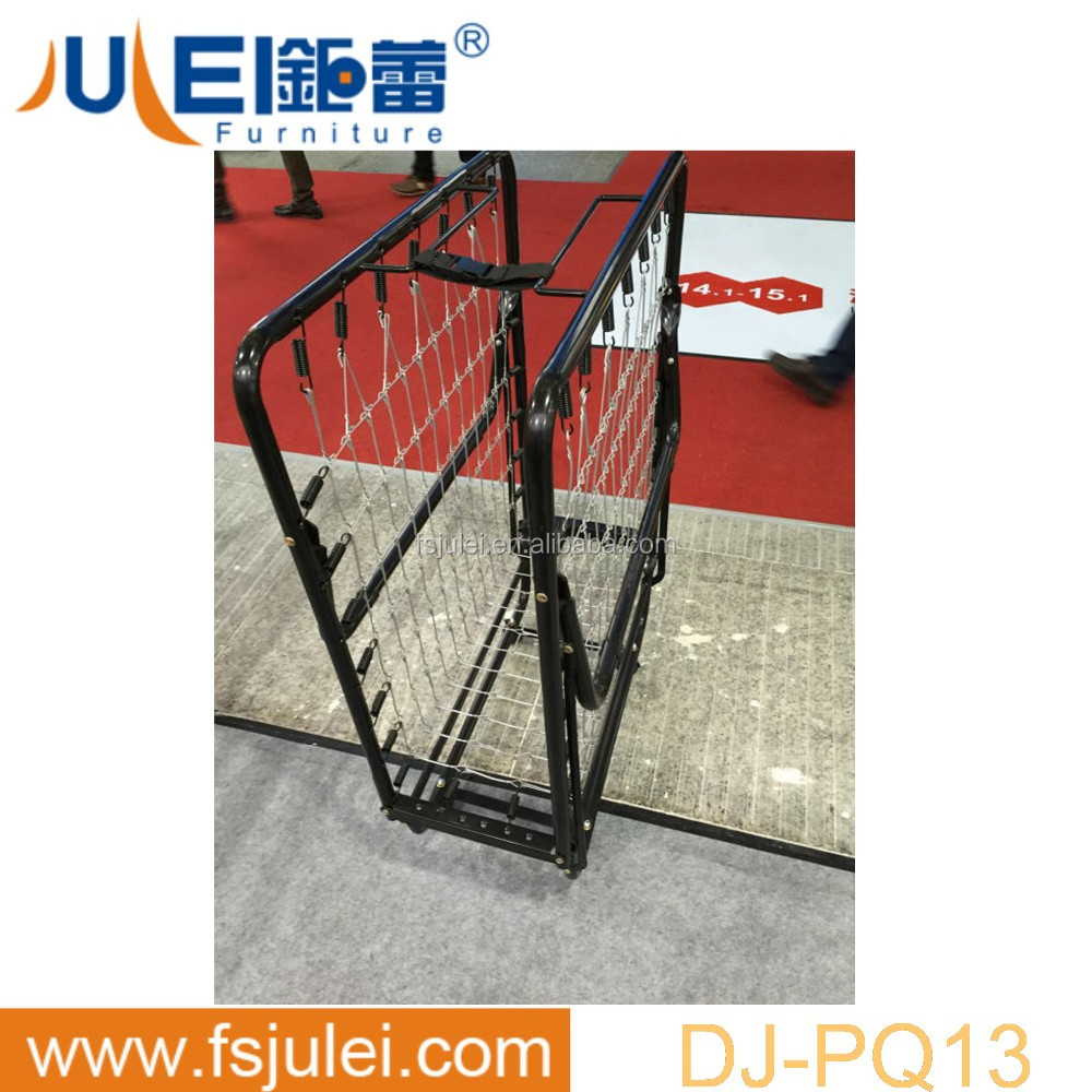 strong support metal hotel single foldable bed frame DJ-PQ13 in hot sell