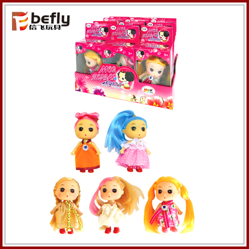 Very cheap small toy candy doll model in bulk