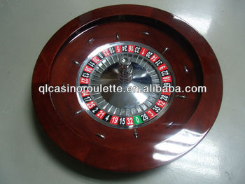 "Luxury Roulette Wheels 32"" solid wood casino roulette wheel"