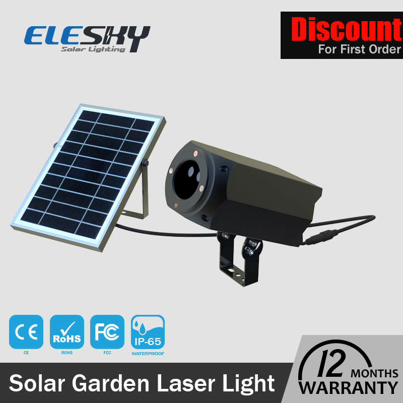 Adjustable lithium battery waterproof RGB colorful small solar powered led lights with great price