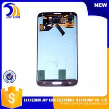 Wholesale Original NEW mobile phone spare parts lcd + touch screen for samsung galaxy s5 sm-g900 screen replacment