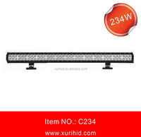234w Led Working Light Bar Off Road Driving Light 4x4 Truck Roof Led Light Bar 234w High Power Off Road Led Light Bar Auto Lamp