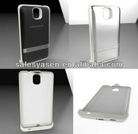 4200mah aluminum external backup battery case for Samsung Note 3