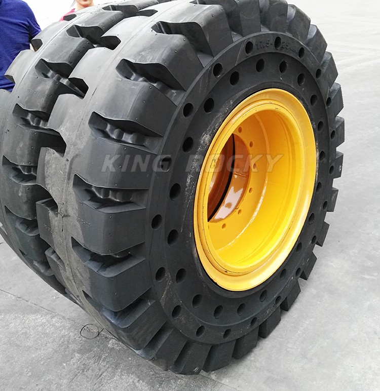 Wheel Loader Solid Tires 17.5-25, 23.5-25, 26.5-25