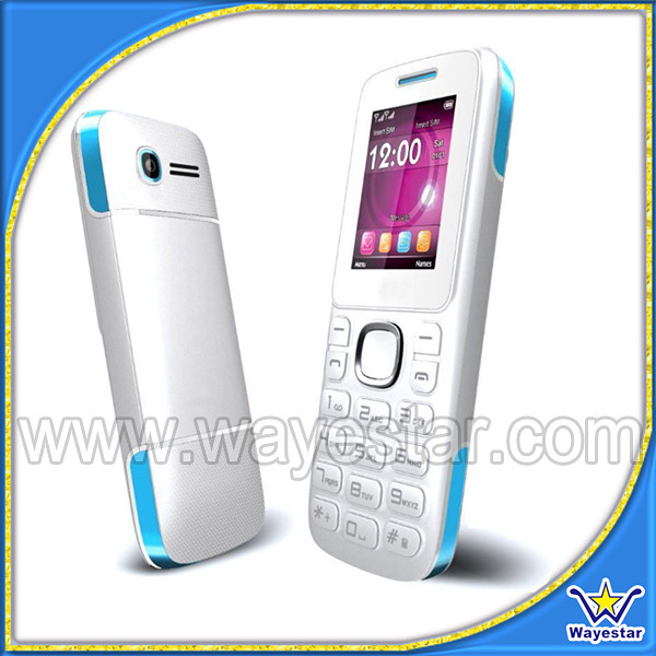 Low end mobile 1.77 inch non andriod phone 2g gsm quadband bluetooth fm
