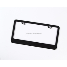 Custom US Standard Carbon Fiber Metal Or Plastic License Plate Frame Holder For Car Decoration