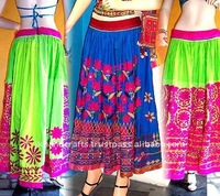 authentic banjara belly dance skirts