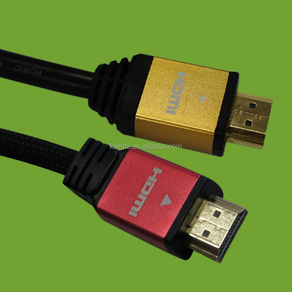 24k gold plated hdmi cable support Ethernet 3D 1080p 2k*4k