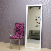 China custom decorative wall design dress standing mirror for bed room