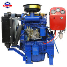hot sale 2 cylinder water cooled diesel engine