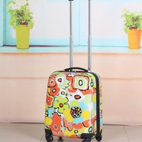 Fashion ABS Expandable Suitcase Hard Shell