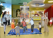 Interactive Floor Projection System for Kids Games/Education