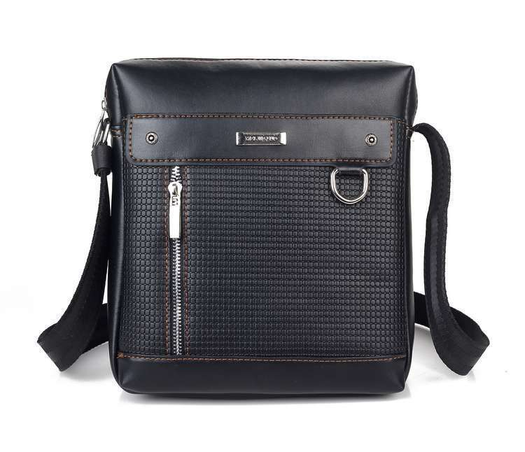fitflop men sling leather backpack