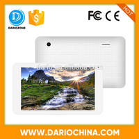 Strong function Quad-core 7 inch tablet pc support bluetooth